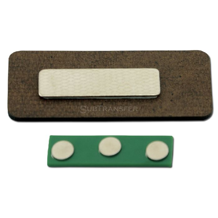 Sublimation MDF Name Tag With Magnet