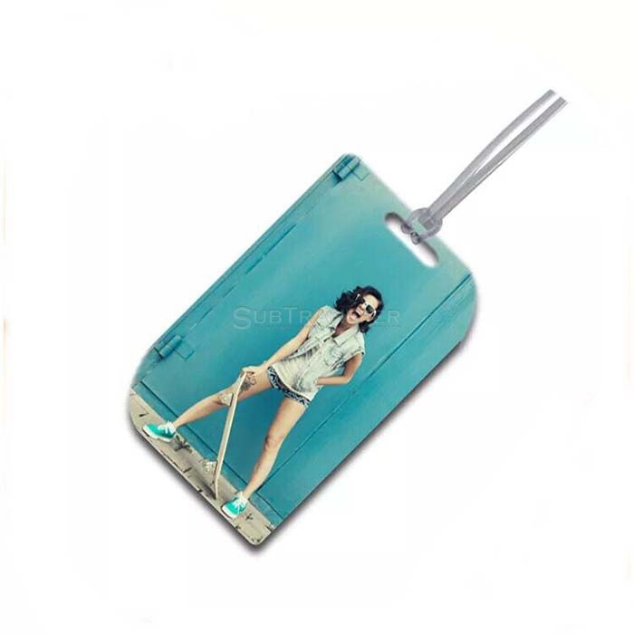 Sublimation Wooden Luggage Tag SB305