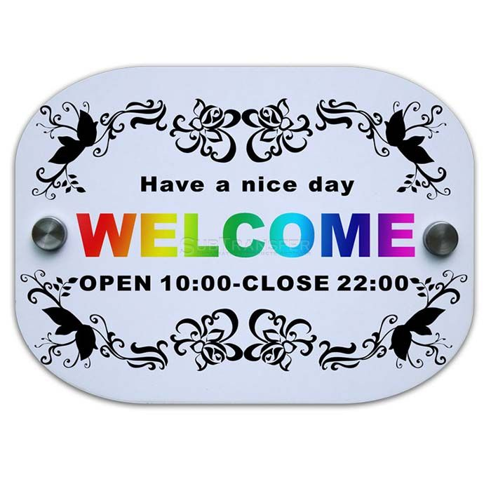 Sublimation MDF Wooden Doorplate SB337