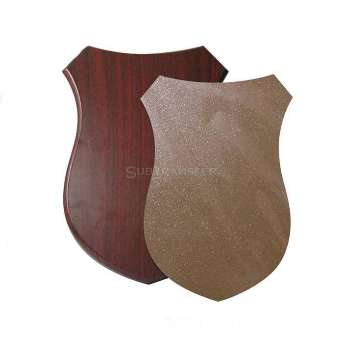 Sublimation MDF Wooden Shield Plaque