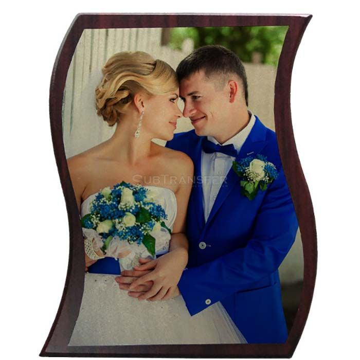 Sublimation MDF Wooden Photo Frame