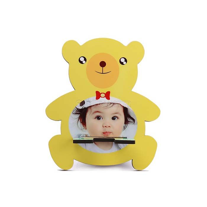 Sublimation MDF Mobile Stand Yellow Bear
