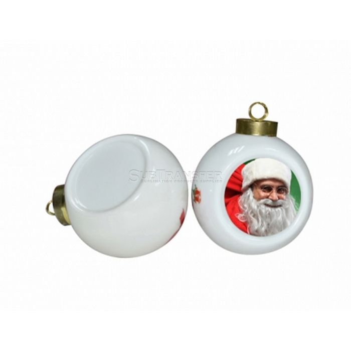 Sublimation Christmas Ceramic Ball