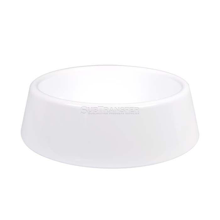 Sublimation Plastic Pet Bowl