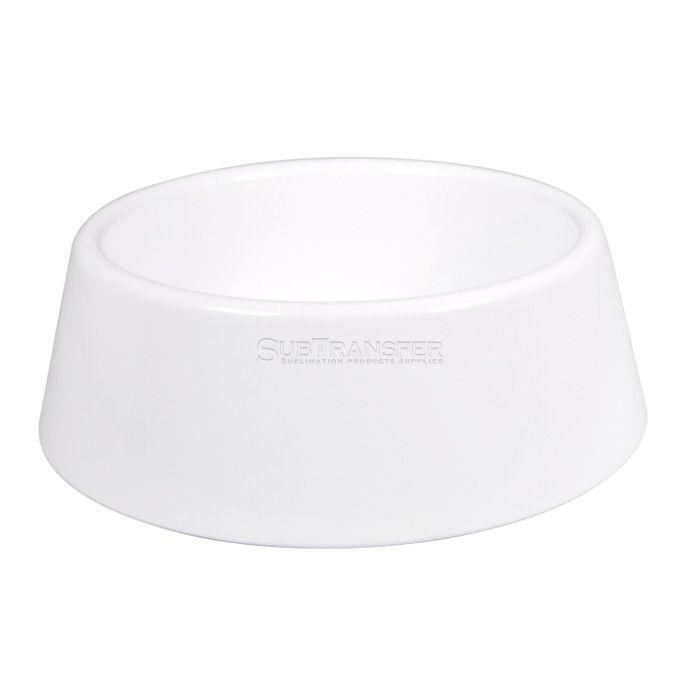 Sublimation Plastic Dog Bowl