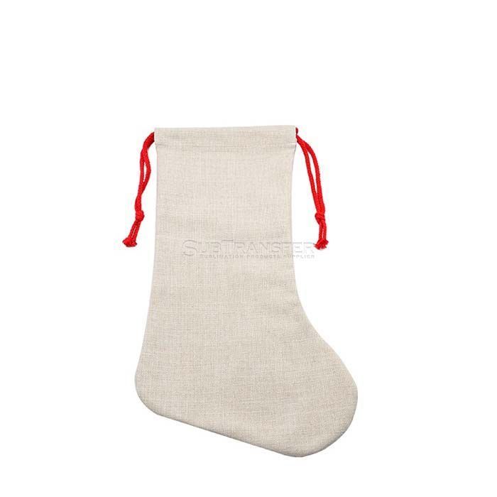 Sublimation Linen Christmas Stocking