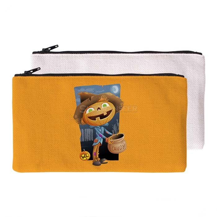 Sublimation Linen Cosmetic Pouch
