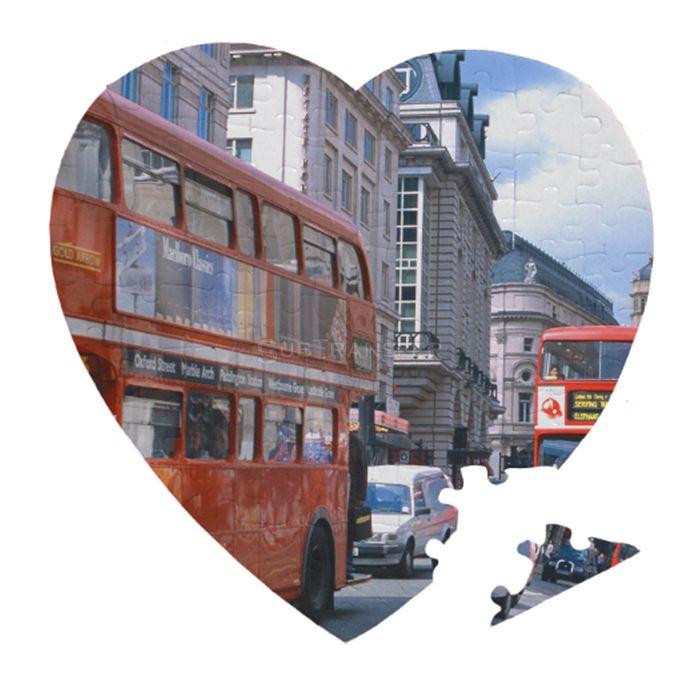Sublimation Jigsaw Puzzle Heart P26