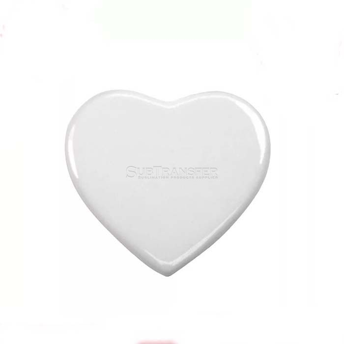 Sublimation Heart Ceramic Tile