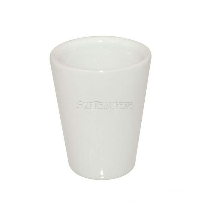 Sublimation Ceramic Shot Glass 1.5oz