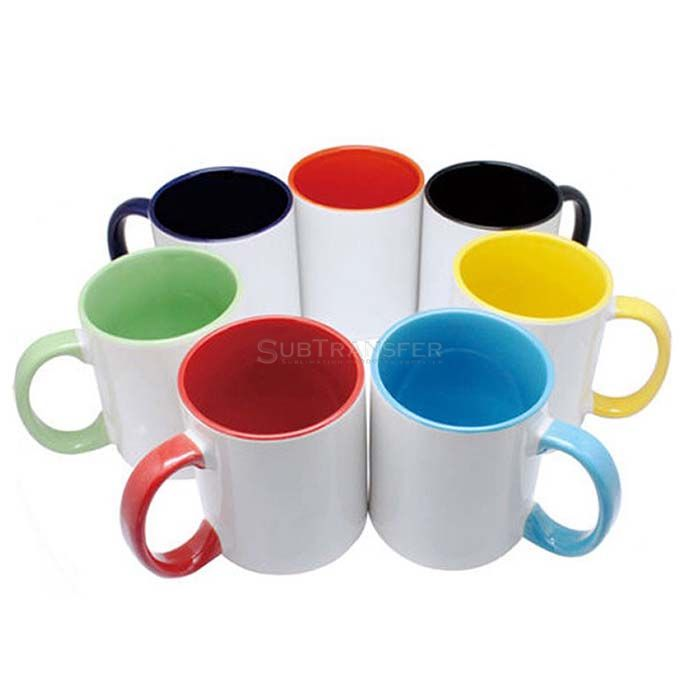 Sublimation Two Tone Colored Mug 11oz