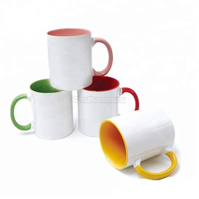 Sublimation Two Tone Colored Mug 11oz