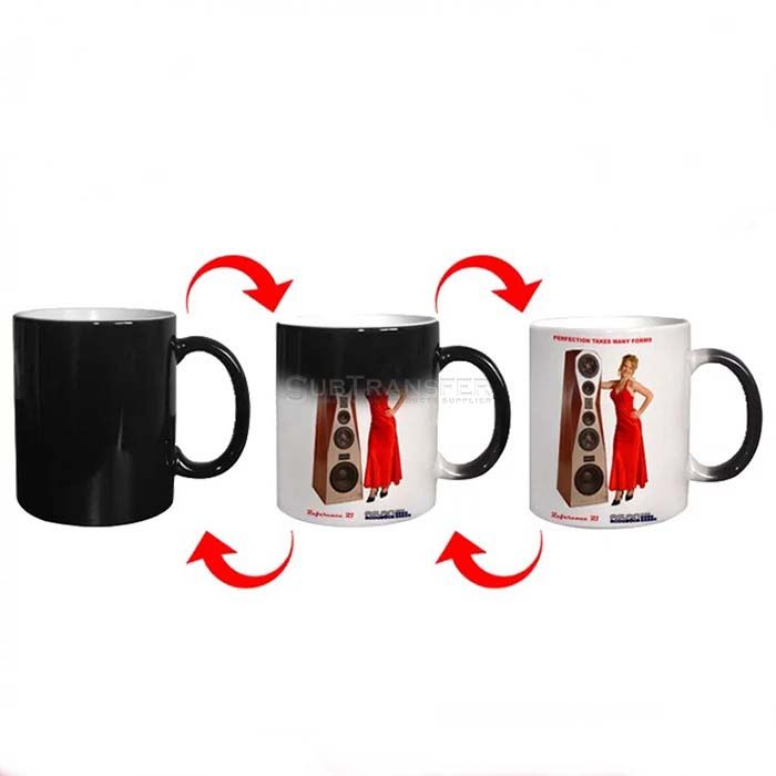 Sublimation Full Color Changing Mug 11oz