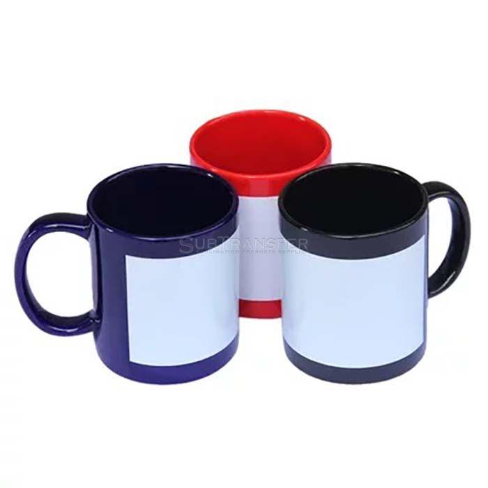 Sublimation Partial Color Changing Mug 11oz
