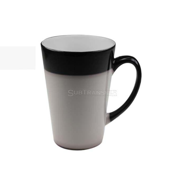 Sublimation V Shape Color Changing Mug 12oz
