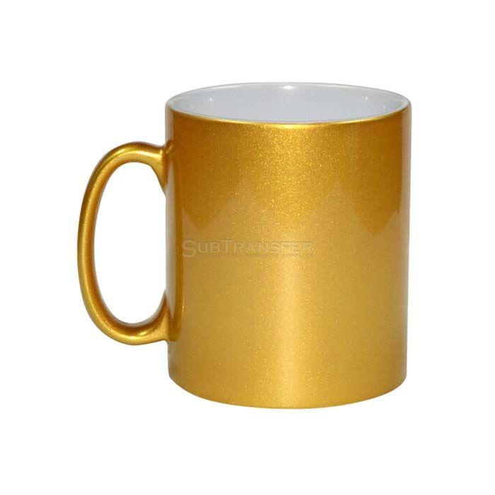 Sublimation Gold Mug 11oz