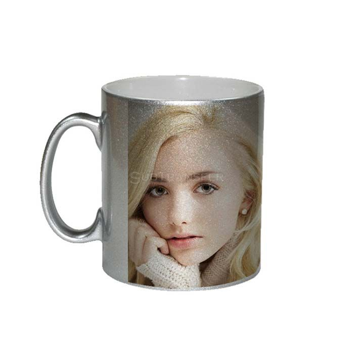 Sublimation Silver Mug 11oz