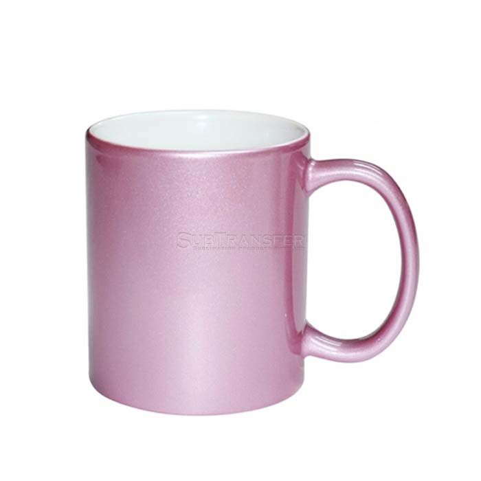 Sublimation Pink Mug 11oz