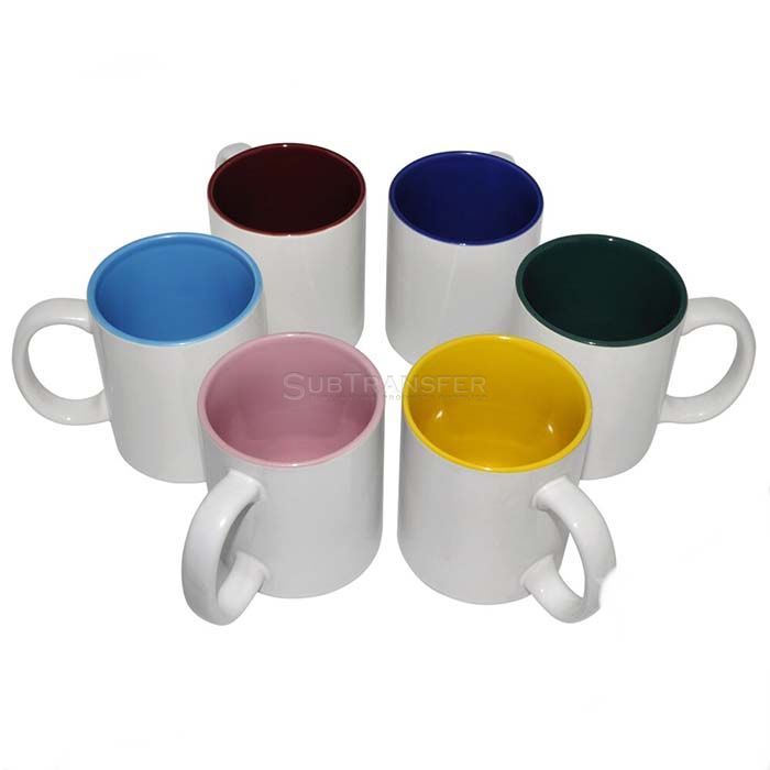 Sublimation Inner Color Mug 11oz