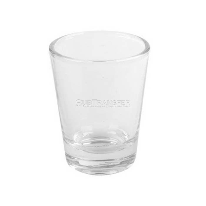 Sublimation Transparent Shot Glass 1.5oz