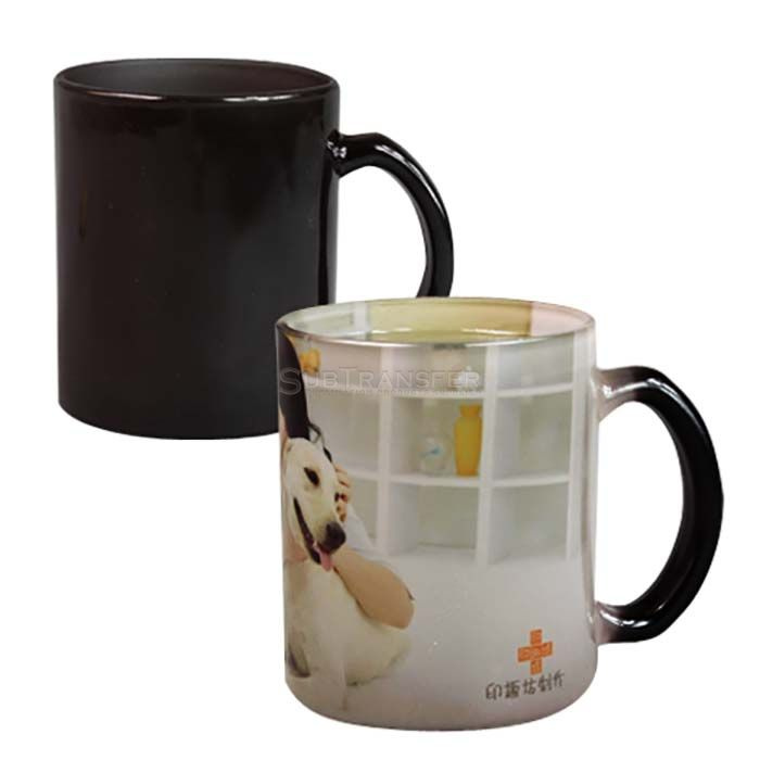 Sublimation Glass Color Changing Mug