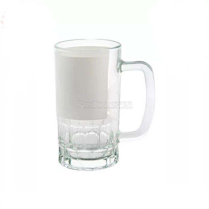 Sublimation Glass Beer Mug 22oz