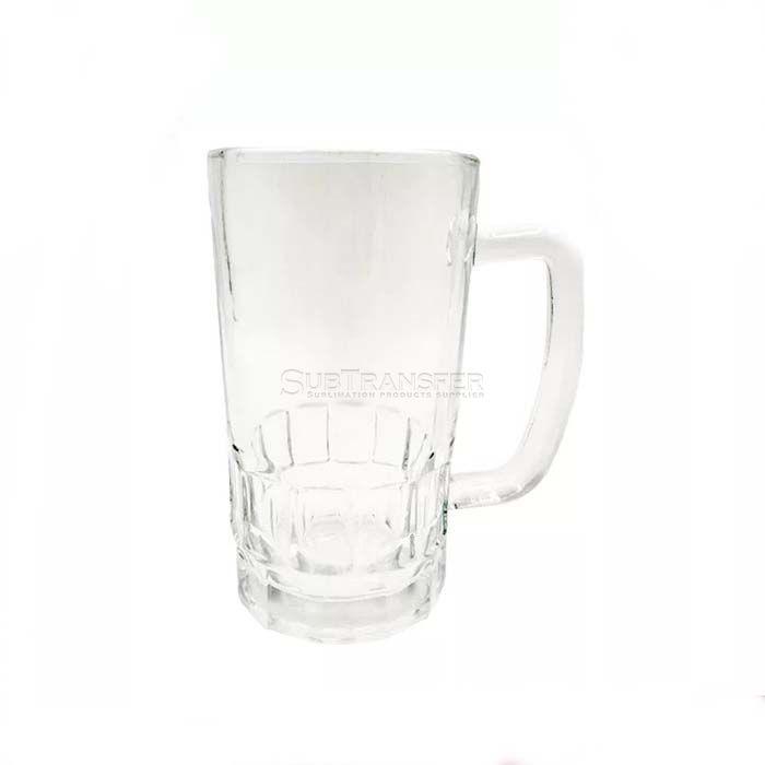 Sublimation Transparent Glass Beer Mug 22oz