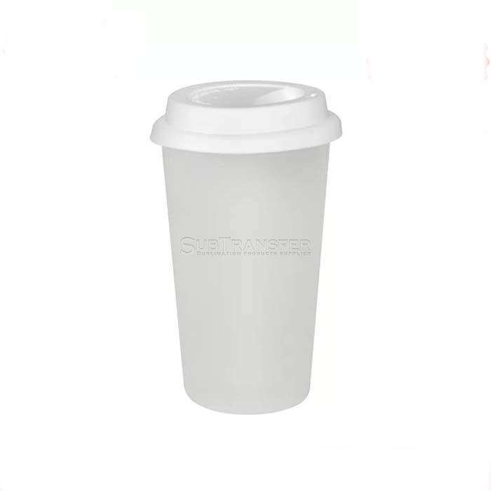 Sublimation Double Layer Glass Mug