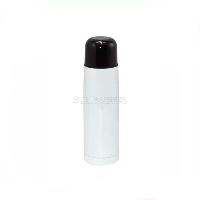 Sublimation Stainless Steel Thermos Flask White 500ml