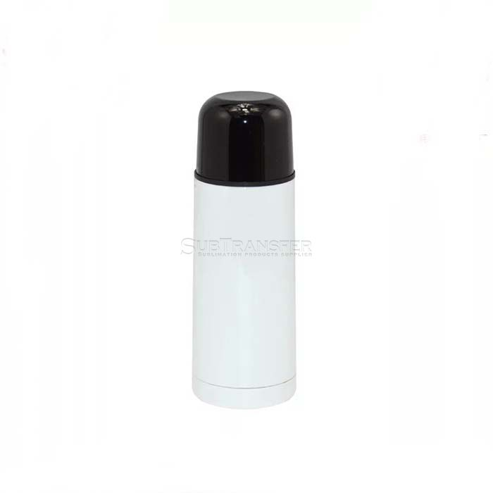 Sublimation Stainless Steel Thermos Flask White 350ml