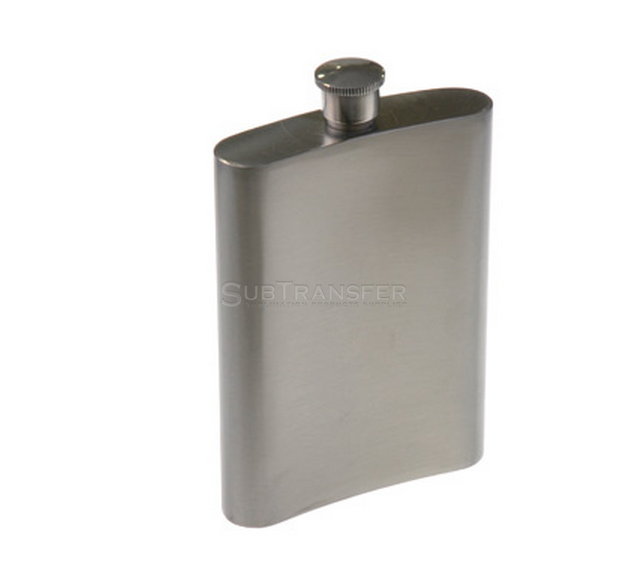 Sublimation Stainless Steel Hip Flask 8oz