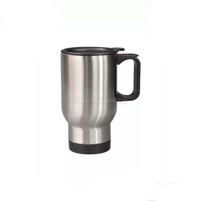 Sublimation Stainless Steel Travel Mug Silver 14oz