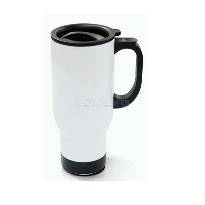 Sublimation Stainless Steel Travel Mug White 14oz