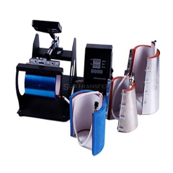 Mug Heat Transfer Press Machine 4 in 1