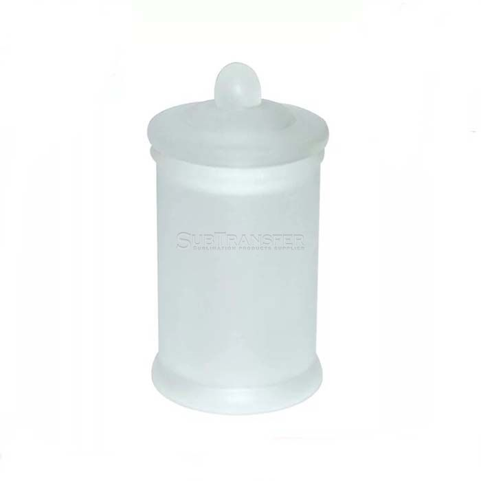 Sublimation Glass Seal Pot