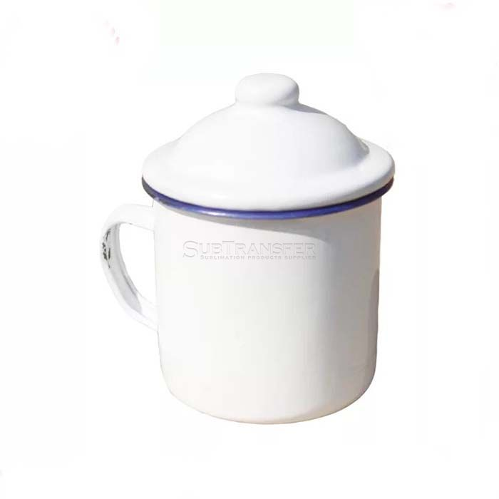 Sublimation Enamel Cup With Cap