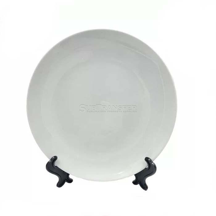 Sublimation Ceramic White Plate 10 inches