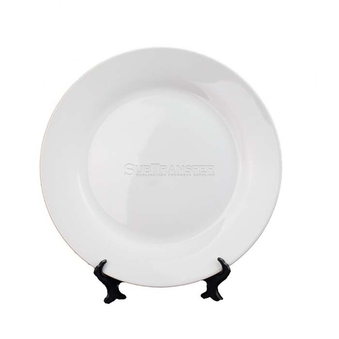 Sublimation White Plate 10 inches