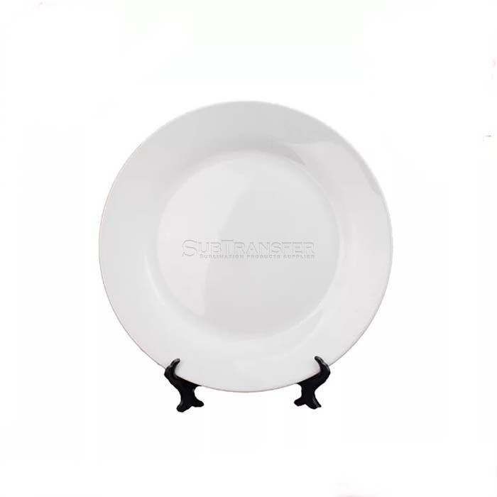 Sublimation Ceramic Plate 8 inches With Stand