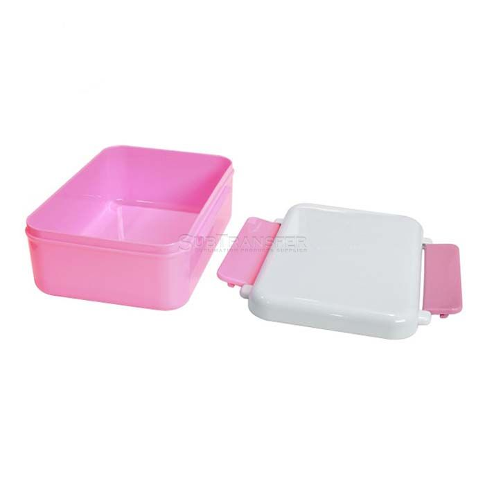 Sublimation Lunch Box Pink