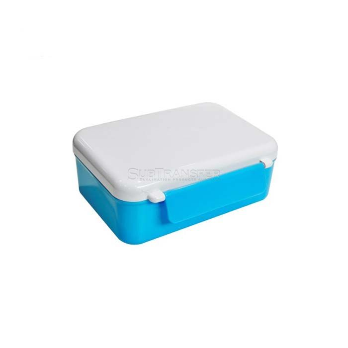 Sublimation Blue Lunch Box