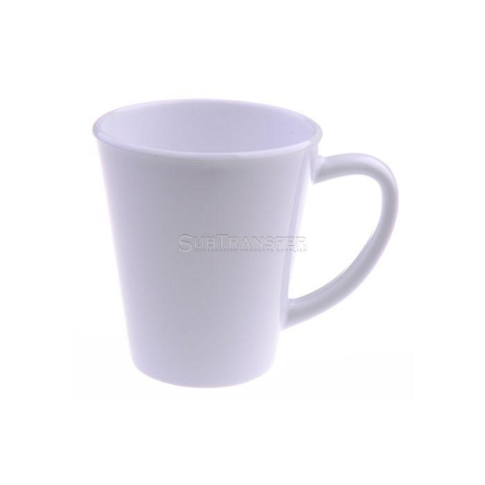 Sublimation Plastic Latte Mug