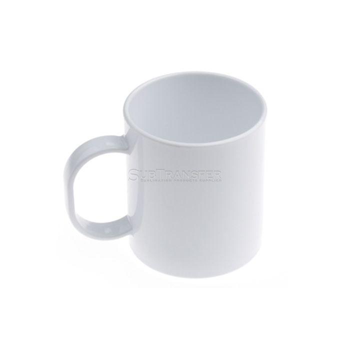 Sublimation Plastic White Mug 11oz