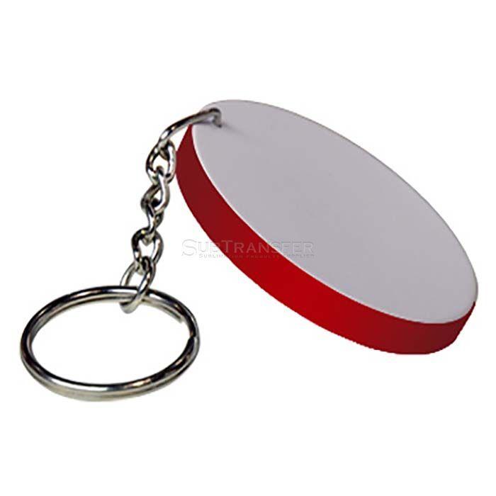 Sublimation Plastic Key ring