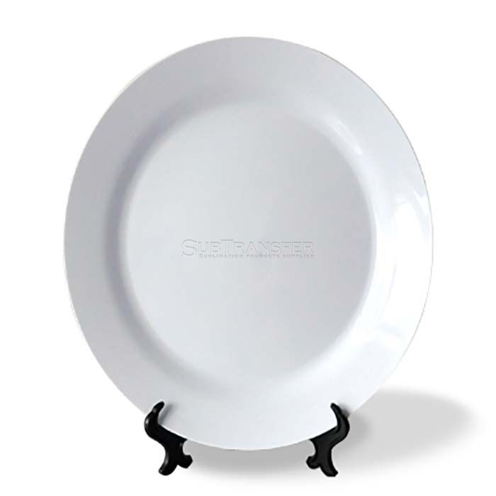 Sublimation Plastic White Plate