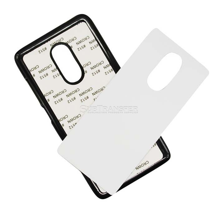 Sublimation Plastic Cellphone Case For Redmi Note4