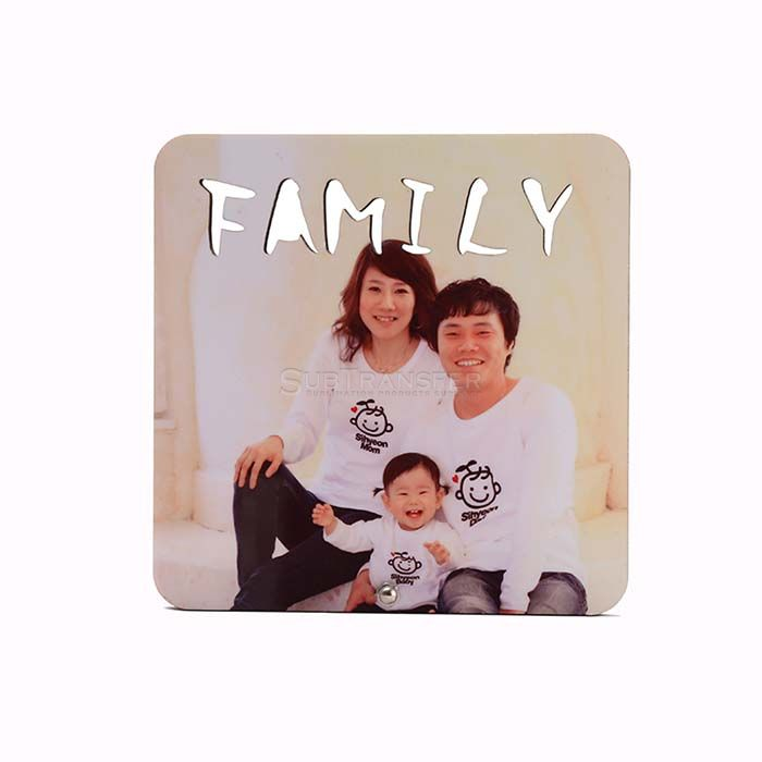 Sublimation MDF Photo Frame SB09