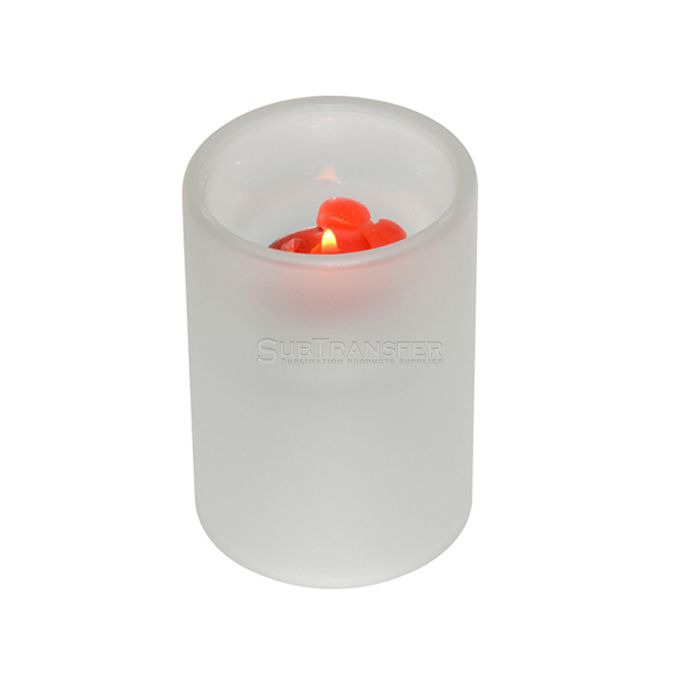Sublimation Glass Candle Holder