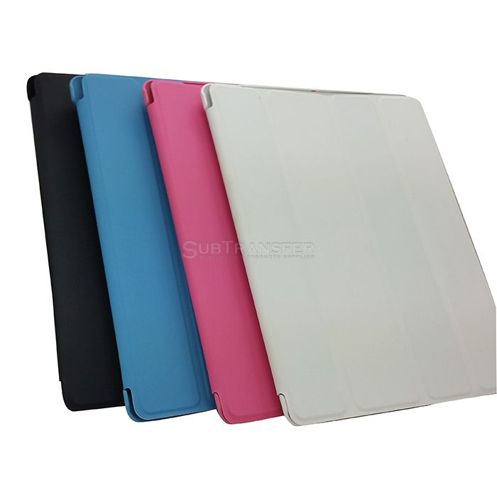 Sublimation Sleeping Flip TPU Rubber Cover For IPAD