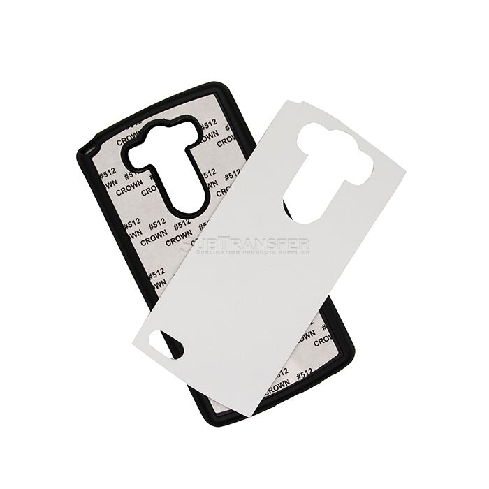 Sublimation TPU Rubber Phone Case For LG G3